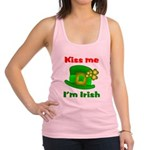 Kiss Me I'm Irish Hat ver2 Racerback Tank Top