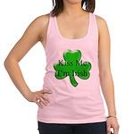 Kiss Me I'm Irish Racerback Tank Top