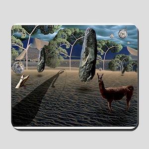 Dali's Llama Mousepad