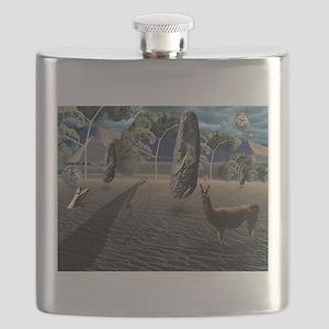 Dali's Llama Flask