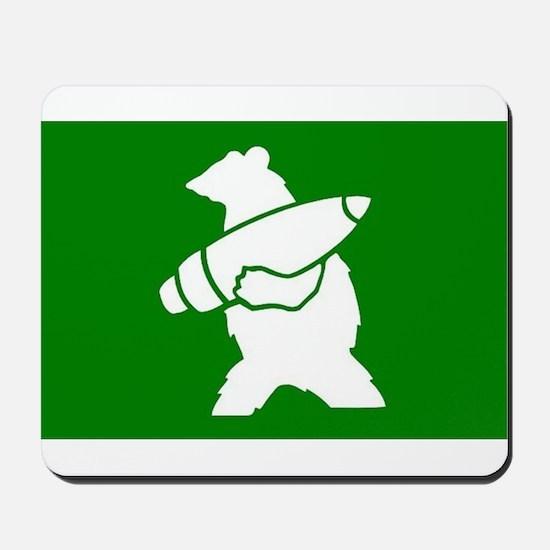 Wojtek the Soldier Bear Mousepad