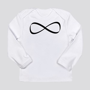 Infinity Sign Long Sleeve Infant T-Shirt