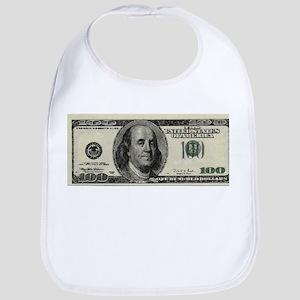 100 Dollar Bill Bib
