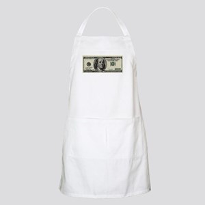 100 Dollar Bill Apron