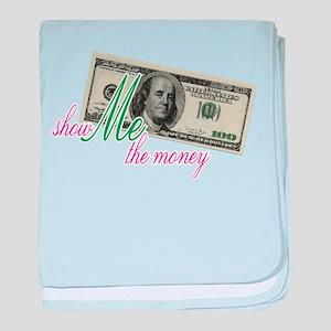 Show Me the Money baby blanket