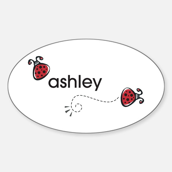 Ashley Oval Decal