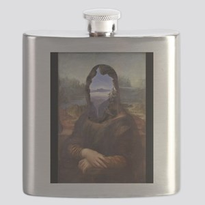 Lisa With A View Flask