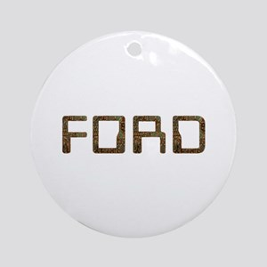 Ford Circuit Round Ornament