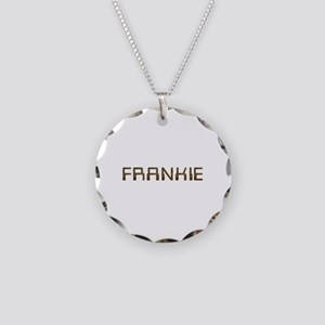Frankie Circuit Necklace Circle Charm