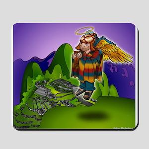 Angel de Machu Picchu Mousepad