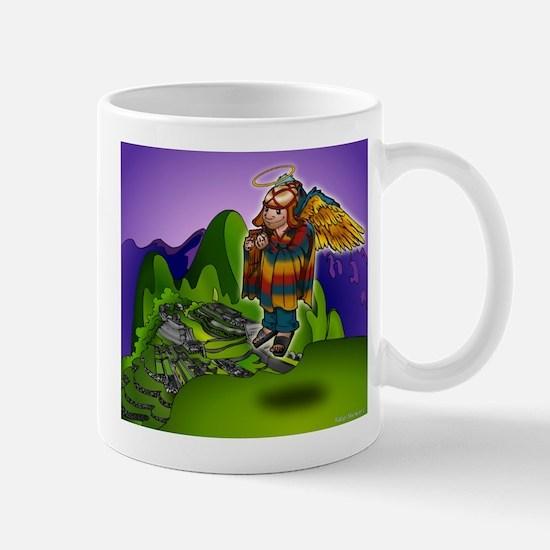 Angel de Machu Picchu Mug