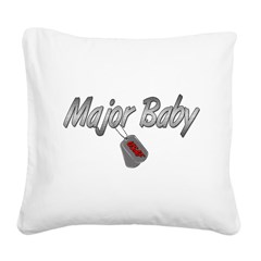 majorbabyusaf3 Square Canvas Pillow