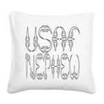 usafclawnephew2 Square Canvas Pillow