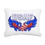 usafheartwing2 Rectangular Canvas Pillow