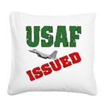 usafissued5a Square Canvas Pillow