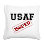 USAF Issued Square Canvas Pillow