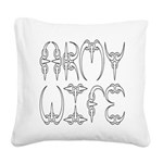 armyclawwife2 Square Canvas Pillow
