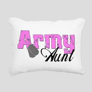 armyaunt99 Rectangular Canvas Pillow