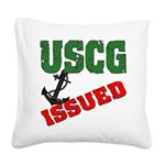 uscgissued5 Square Canvas Pillow