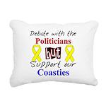 Debate Politicians Support ou Rectangular Canvas P