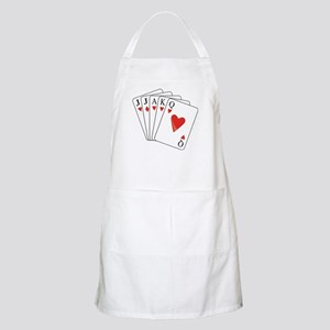 Euchre Playing Cards Apron