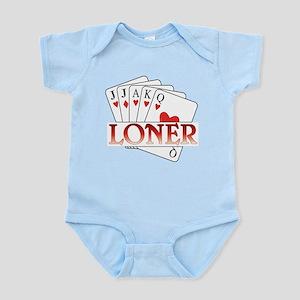Euchre Loner Infant Bodysuit