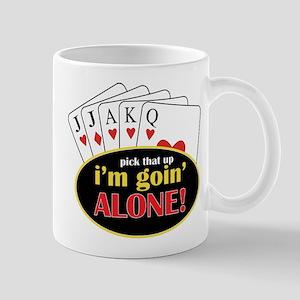 Im Going Alone Mug