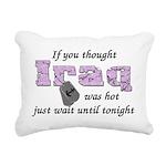 iraqwashotnavy Rectangular Canvas Pillow
