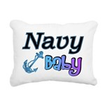 navybabyboy Rectangular Canvas Pillow
