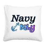 navybabyboy Square Canvas Pillow