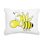 The Original Cute Bee Rectangular Canvas Pillow