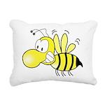 Original Cute Stinger Bee Rectangular Canvas Pillo