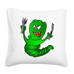 The Original Angry Square Canvas Pillow