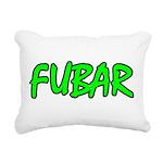 FUBAR ver4 Rectangular Canvas Pillow