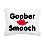 Goober Smooch Rectangular Canvas Pillow