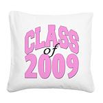 classof2009 Square Canvas Pillow