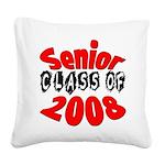 seniorclass08 Square Canvas Pillow