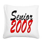 senior2008z Square Canvas Pillow