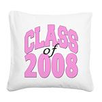 classof2008a Square Canvas Pillow
