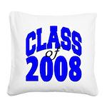 classof08 Square Canvas Pillow