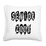 senior2008a Square Canvas Pillow