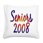 seniors2008 Square Canvas Pillow