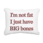 bigbones Rectangular Canvas Pillow