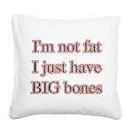 bigbones Square Canvas Pillow