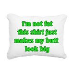 notfatbuttbig Rectangular Canvas Pillow