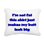 notfatblue Rectangular Canvas Pillow