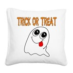 ghosttrick Square Canvas Pillow