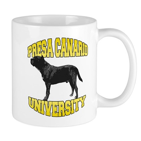 Presa Canario University Mug