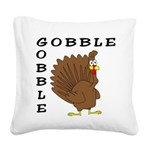 gobblegobble Square Canvas Pillow