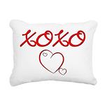 xoxoheart Rectangular Canvas Pillow
